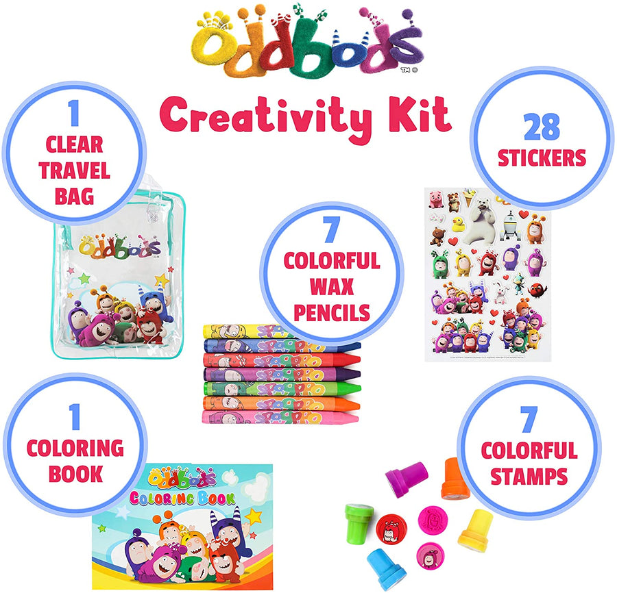 Oddbods Creativity Set