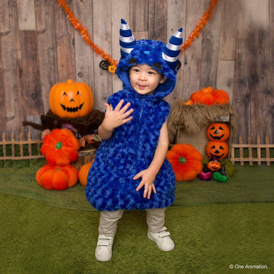 Oddbods Pogo Costume for Kids | Blue, One Piece