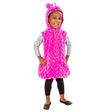Oddbods Newt Costume for Kids | Pink, One Piece