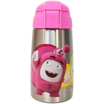 Oddbods Stainless Steel Water Bottle - Pink