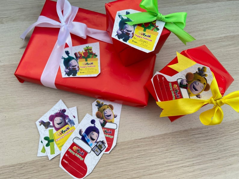 Oddbods Gift Tags (Digital Files)
