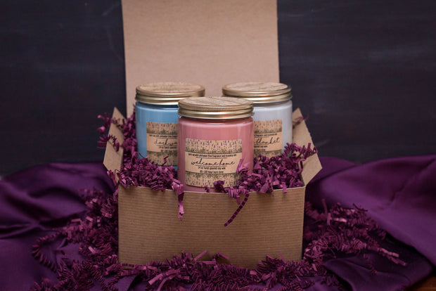 Large Candle Trio Gift Set