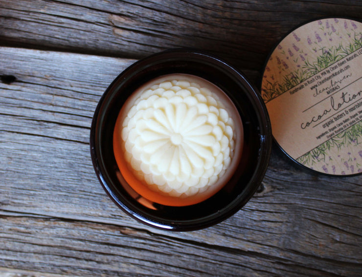 Organic Cocoa Lotion Bar