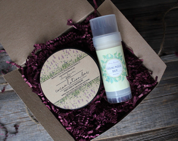 Gift Set: Cocoa Lotion Bar & Lotion Stick