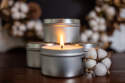 FALL & WINTER CLEARANCE Soy Candle Tin