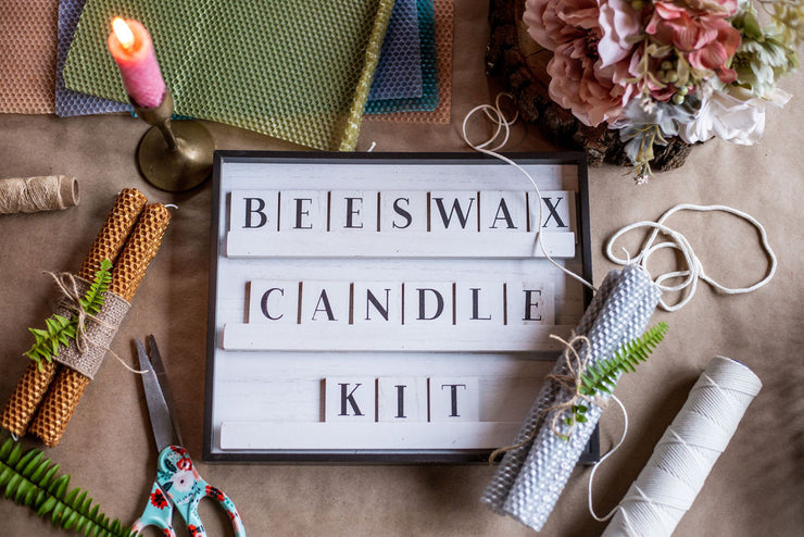 Rolled Beeswax Candle Take Home Kit