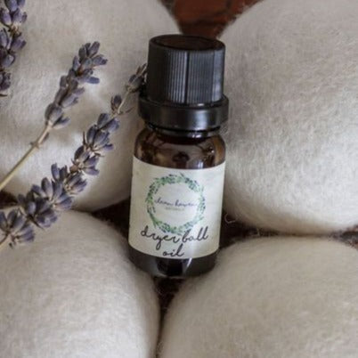 Wool Dryer Ball Essential Oil - Lavender and Lemon