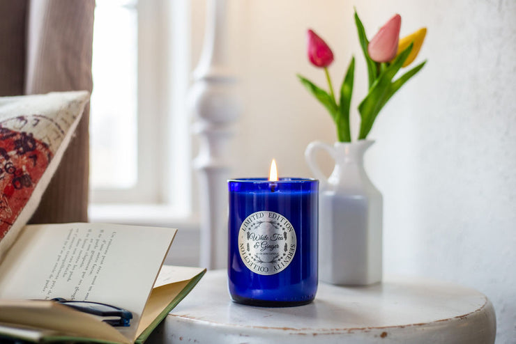 Serenity Collection [Limited Edition] Cobalt Blue Soy Candle