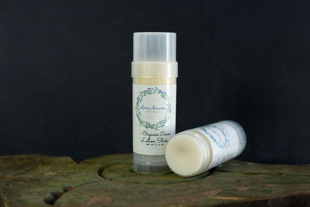 Organic Cocoa Lotion Bar Stick
