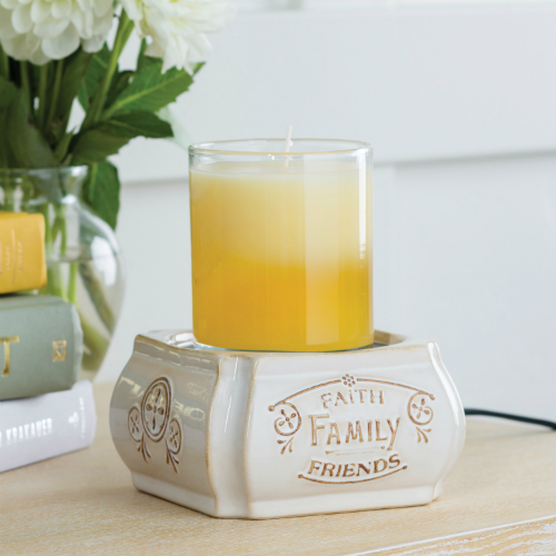 Faith, Family, Friends 2-in-1 Classic Fragrance Warmer - 15% OFF MOVING SALE