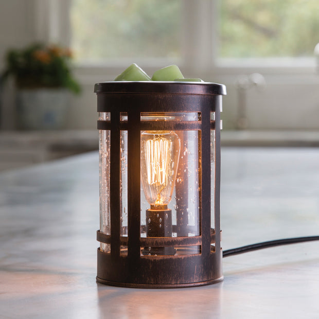 Classic Bronze Mission Edison Bulb Illumination Warmer