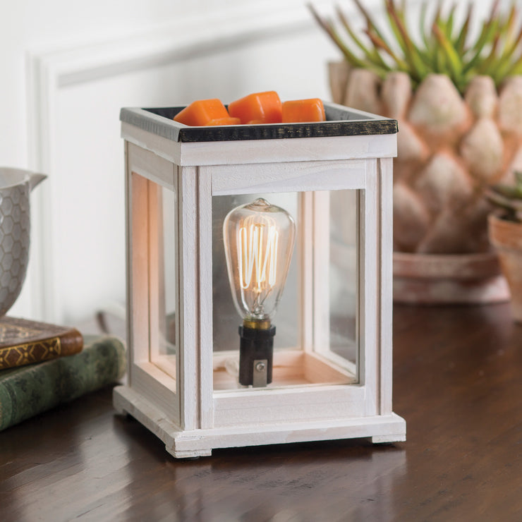Weathered Wood Edison Bulb Illumination Warmer