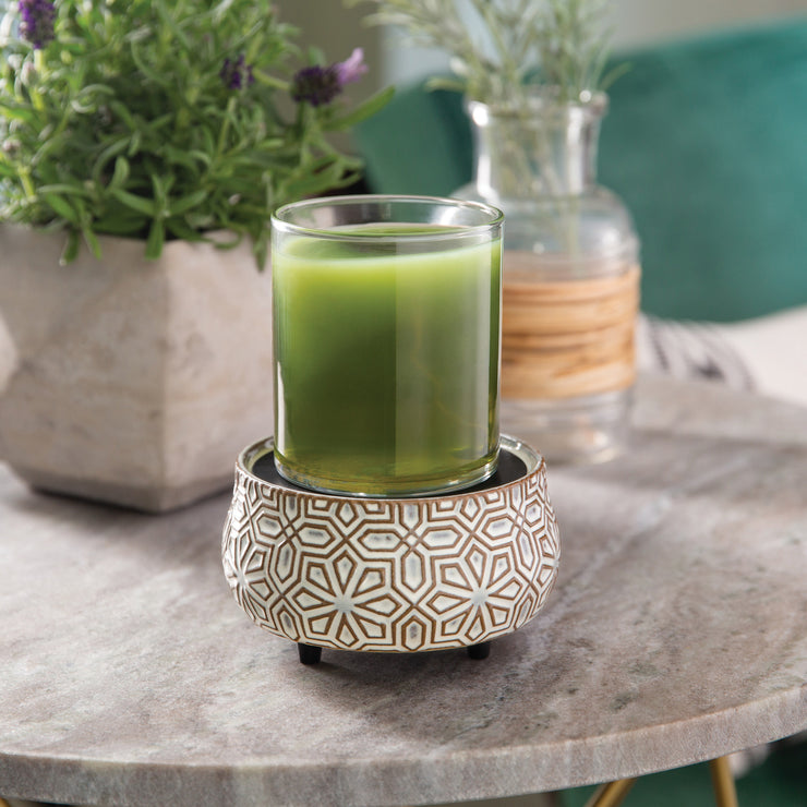 Geometric 2-in-1 Wax Warmer