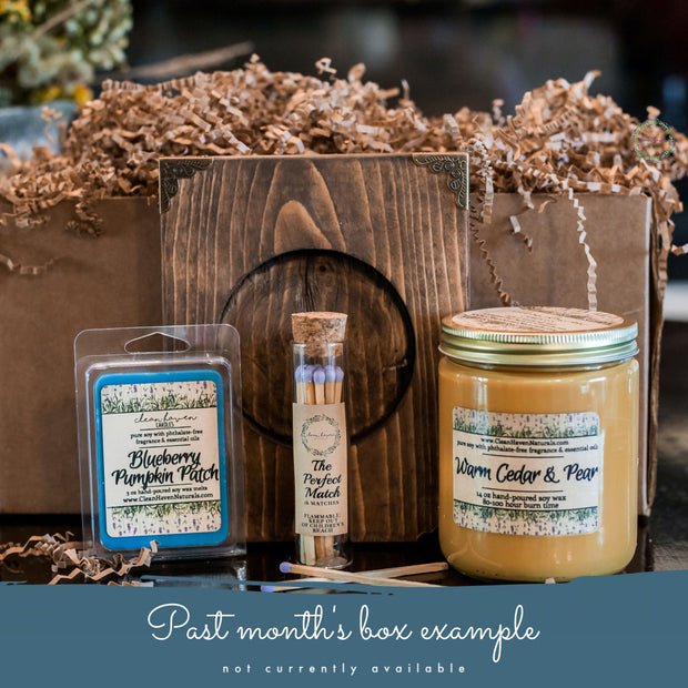 Clean Haven Naturals Monthly Subscription Box