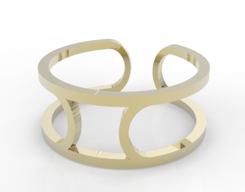 Meander ring small