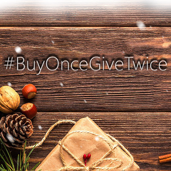 Top 5 ways to #BuyOnceGiveTwice this Christmas