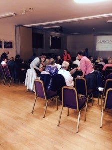 CLARITY working with Hampshire Women's Institute