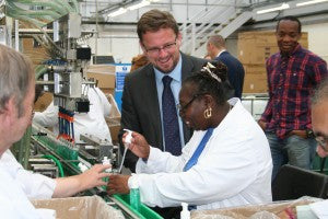 Minister for Civil Society visits CLARITY
