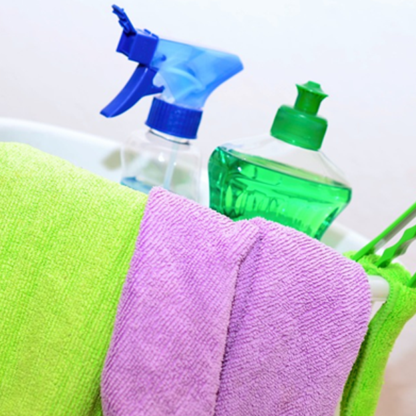Top tips when doing your spring clean