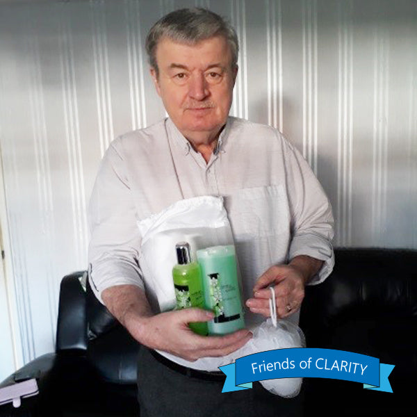Friends of CLARITY - our loyal Supporter Mr Jeff Cotton