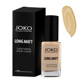 Matte Foundation JOKO Ireland Rich Tan