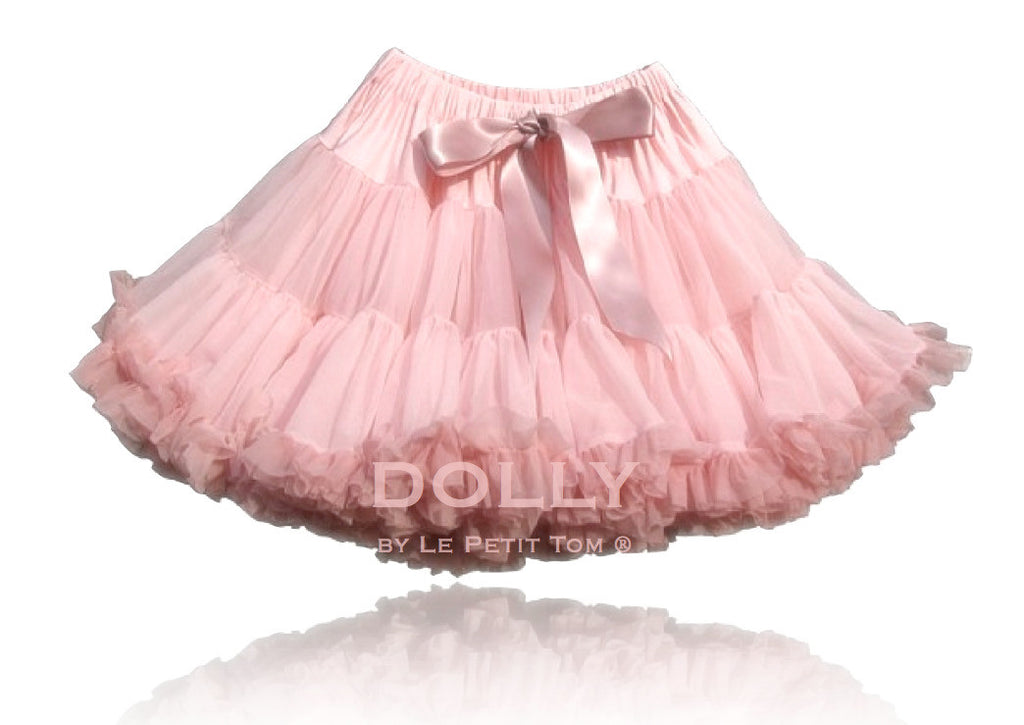 ISABELLA PINK Pettiskirt rose & dusty pink (petite 1-3 years + free doll size)