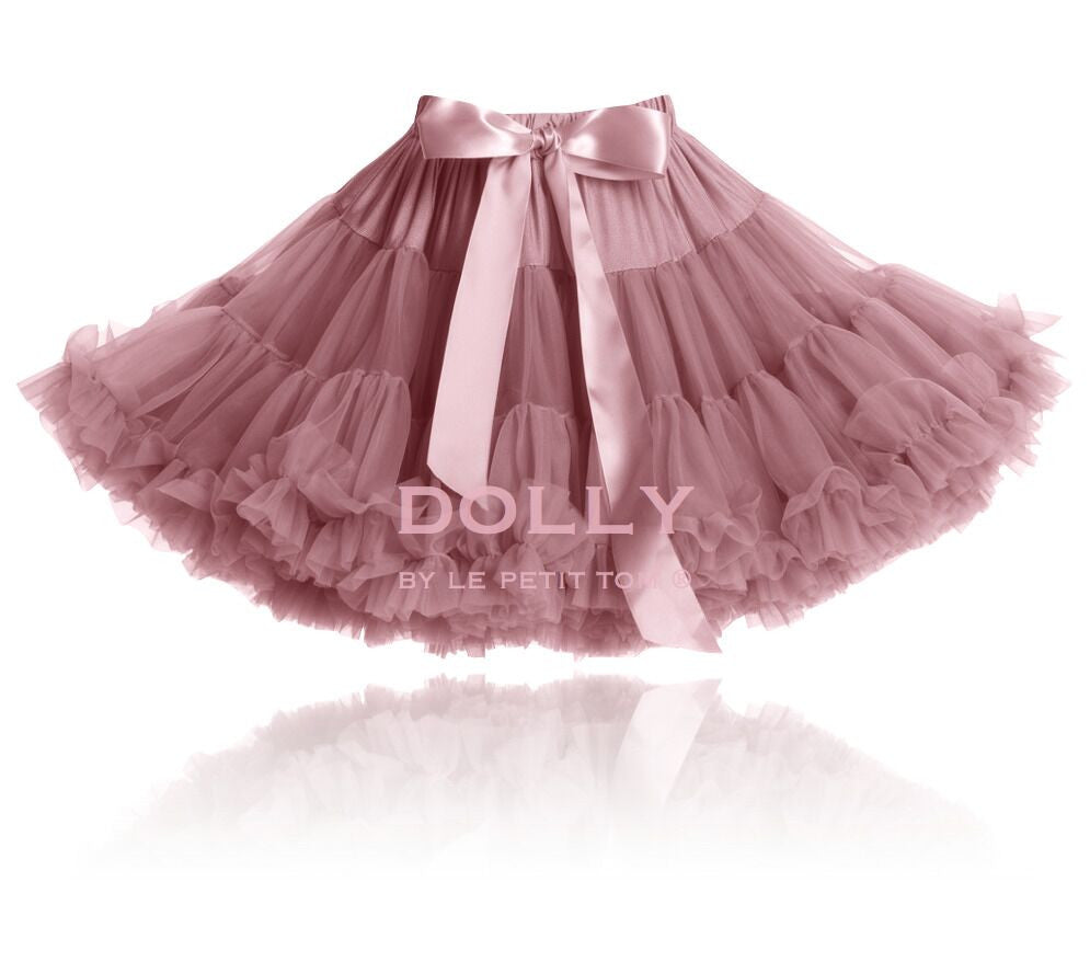 CAT PRINCESS Pettiskirt dusty pink (petite 1- 3 years+free doll size) , (small 3-6 years+free doll size)
