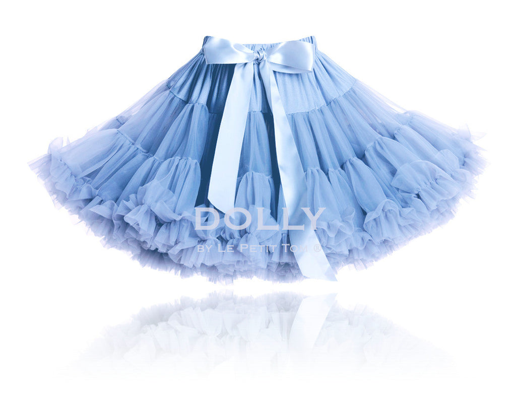 ALICE IN WONDERLAND Pettiskirt light blue (petite 1-3 years+free doll size) , (small 3-6 years+free doll size)