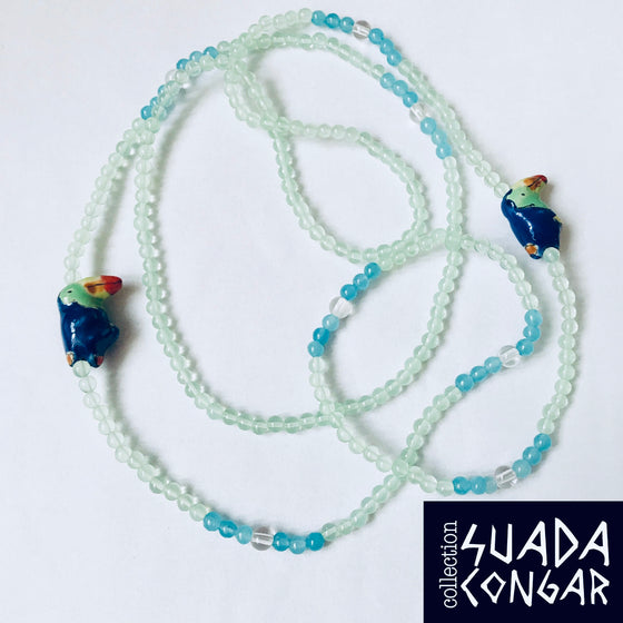 Precious Stones Collection - Toucan Long Necklace