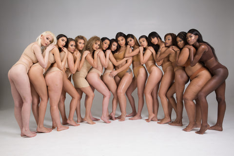 All races, all ethnicities and all skin colours