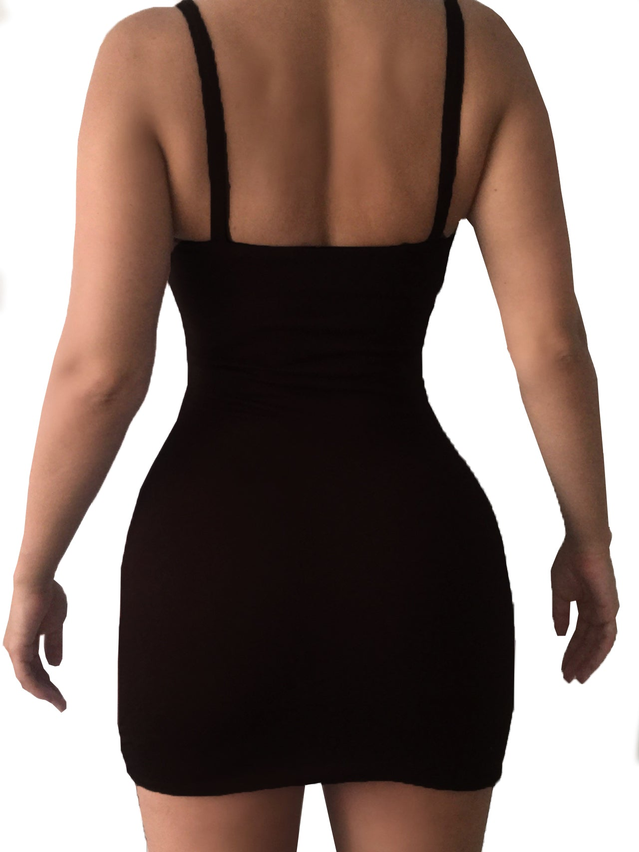 Aurora Reversible Bodycon Dress NU5 X NOIR