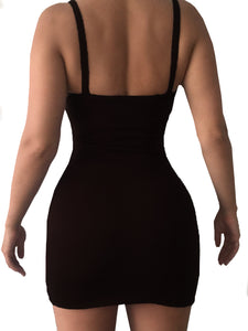 Aurora Reversible Bodycon Dress NU4 X NOIR