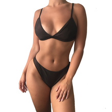 Load image into Gallery viewer, Lucia Reversible Bikini NU6 X NOIR