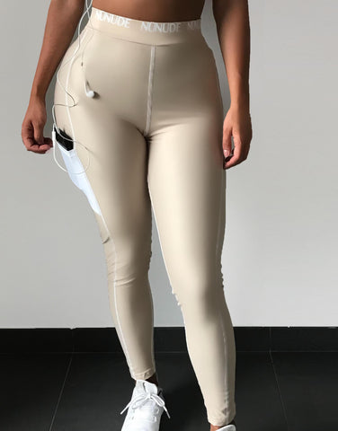 Nunude Logo Leggings