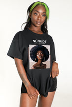 Load image into Gallery viewer, Melanin Queen Graphic T Shirt Dress