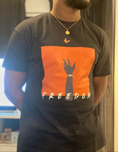 Load image into Gallery viewer, Freedom Black T Shirt