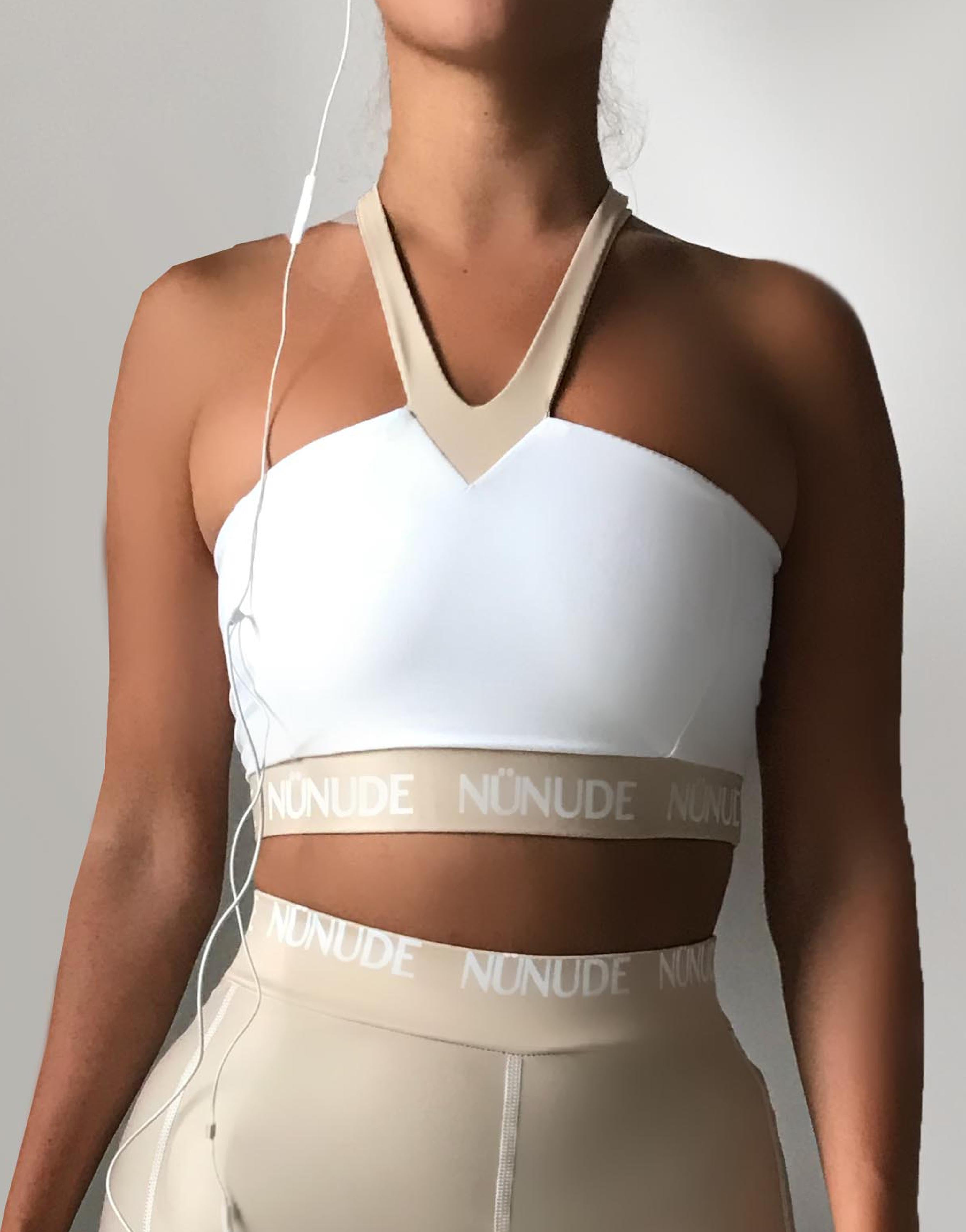 Double Layered Extra Support Sport Crop