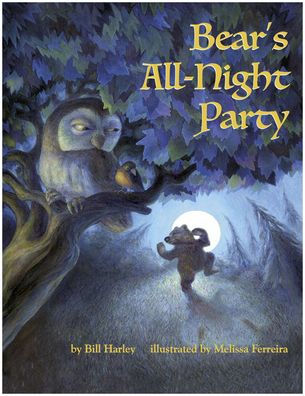 Bear's All-Night Party Paperback Book Cover