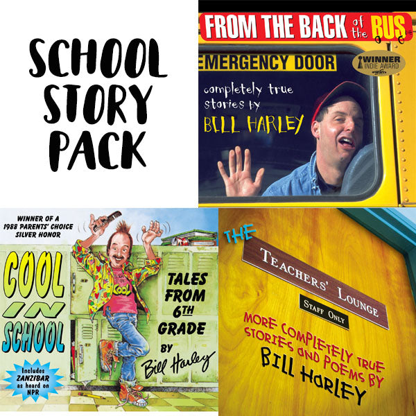 School Story Pack - From the Back of the Bus, Cool in School, The Teachers' Lounge