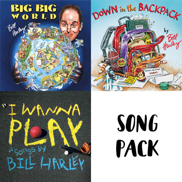 Song Pack - Big Big World, Down in the Backpack, I Wanna Play
