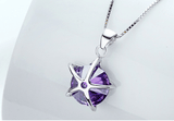 925 Silver Star Crystal Pendant Jewelry For Bracelets Earrings Necklace