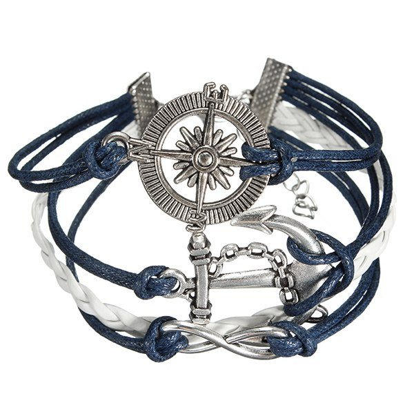 Multilayer Leather Rope Bracelet
