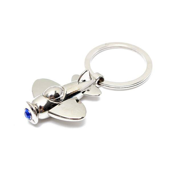 Creative Mini Plane Model Zinc Alloy Aircraft Key Chain Key Ring Gift