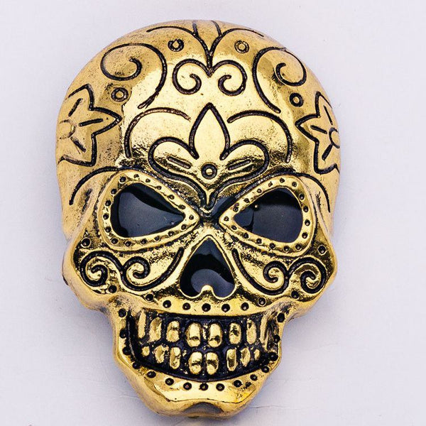 Skull Head Brooch Pin