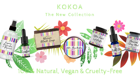 kokoa eco beauty vegan cruelty free skincare uk beauty collection routine