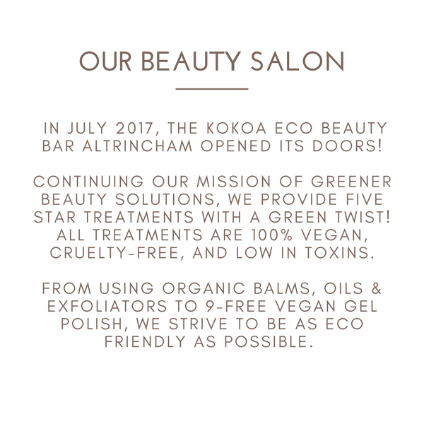 our beauty salon kokoa eco beauty about