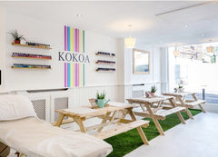Kokoa eco beauty bar altrincham manchester vegan cruelty free nails massage waxing