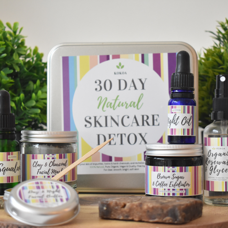 kokoa natural skin detox 30 day vegan cruelty free