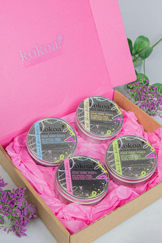 Kokoa's Raw Fruit & Clay Masks
