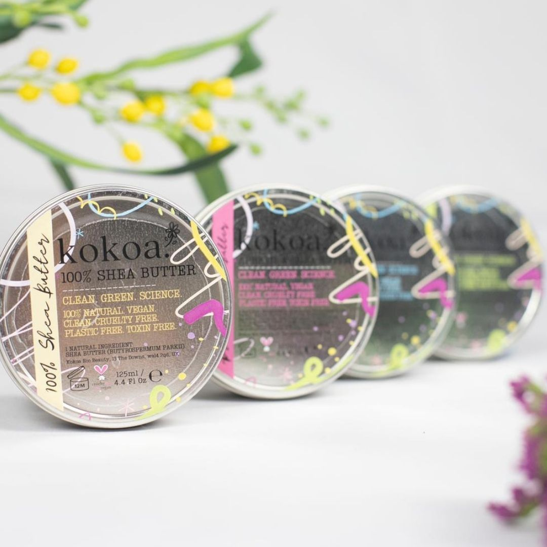 100% Organic, Unrefined, Ghanaian Shea Butter - Kokoa Eco Beauty